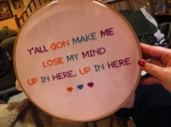 A prime example of sassy stitching. (Photo from kksmagiclist.blogspot.com)
