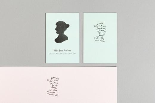 Moo.com Austen cards